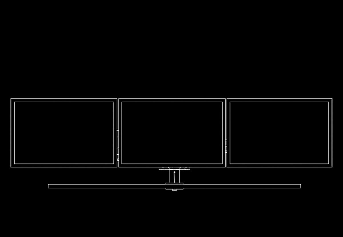 3-skjermsløsninger referanser
